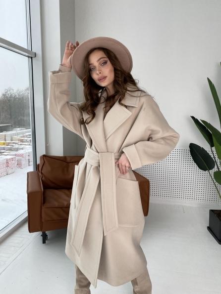 """Купить """"Кейт""""  пальто из кашемира 10539 оптом и в розницу"""