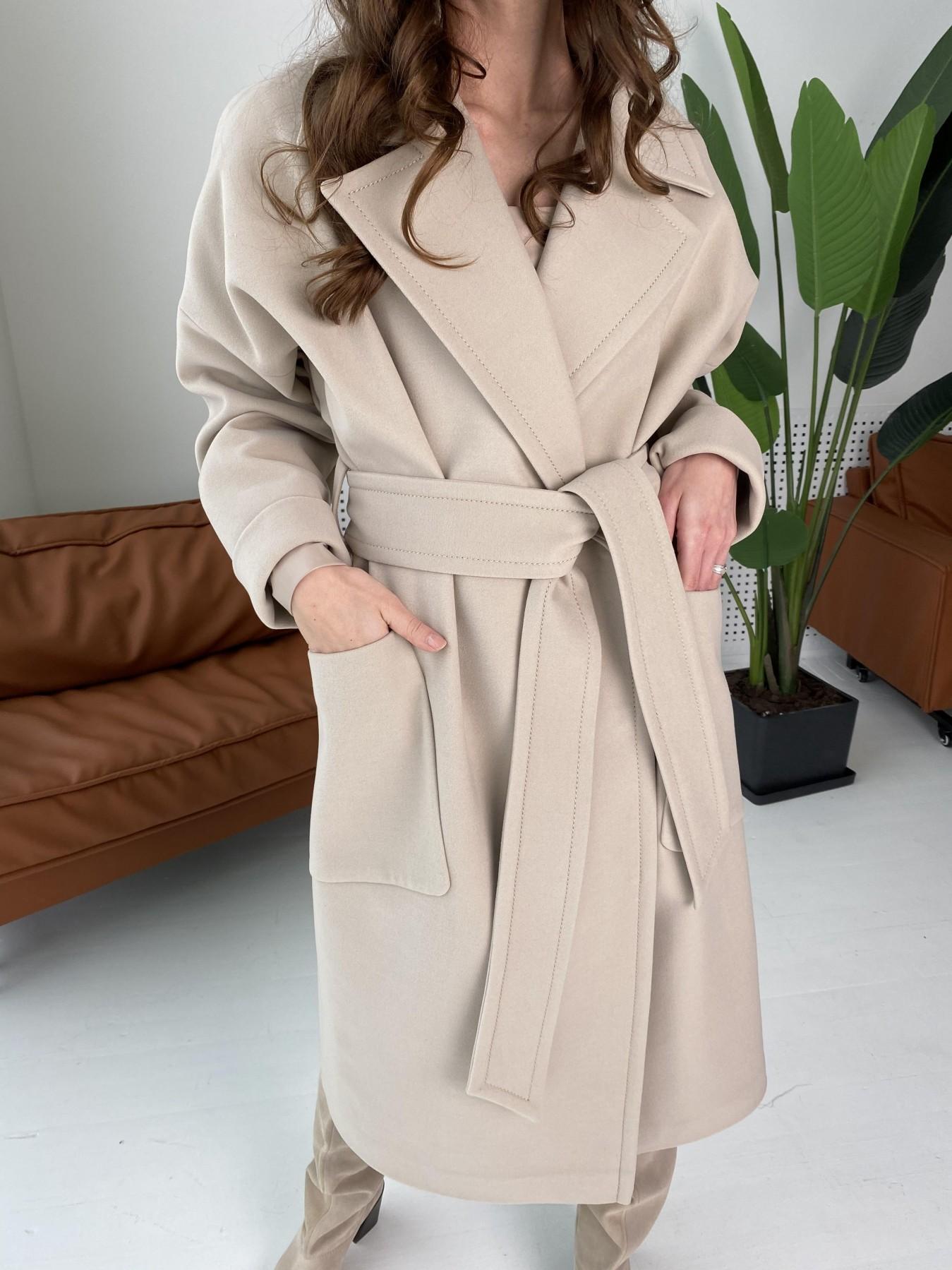 Кейт  пальто из кашемира 10539 АРТ. 46990 Цвет: Бежевый Светлый - фото 10, интернет магазин tm-modus.ru