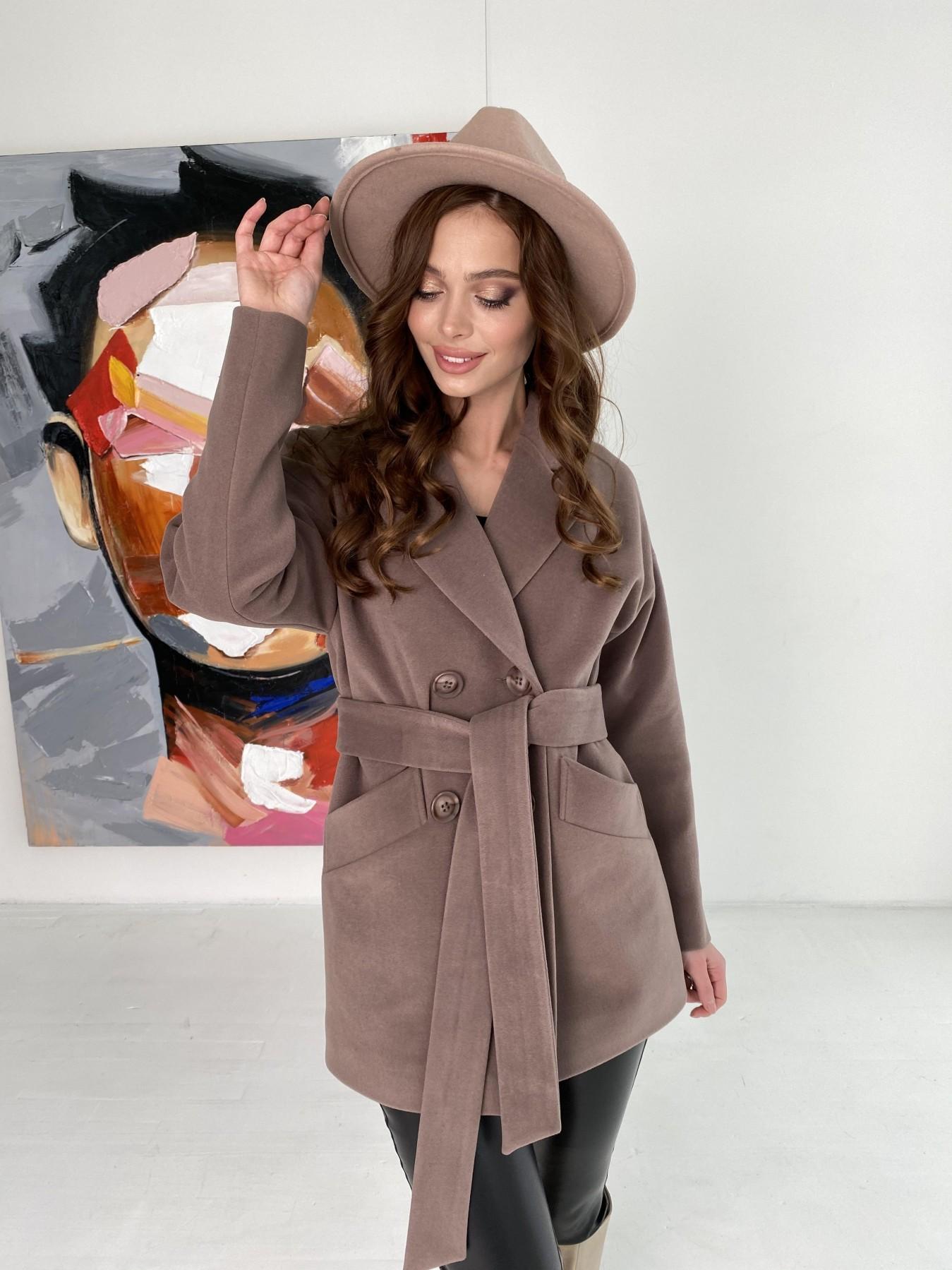 Демисезонное пальто от производителя Modus Бонд пальто кашемировое на трикотаже 10642