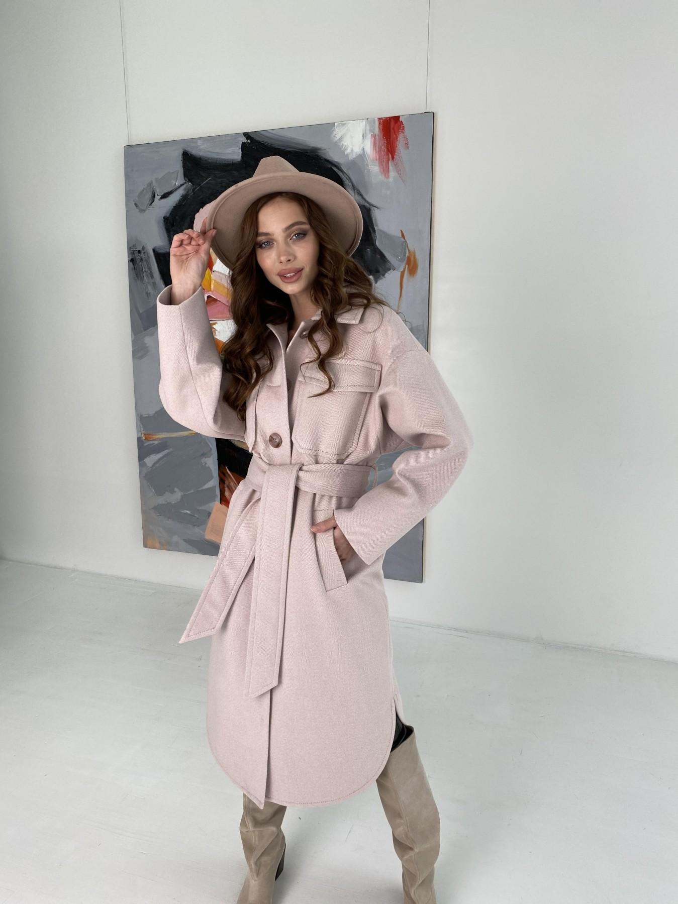 Демисезонного пальто оптом ТМ Modus Ола  пальто в мелкую елочку из пальтовой ткани 10648