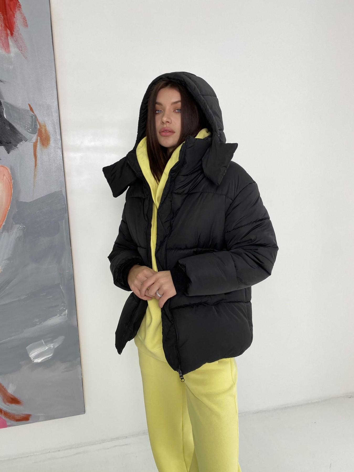 купить куртки женские Рич пуховик из плащевки Ammy 10134