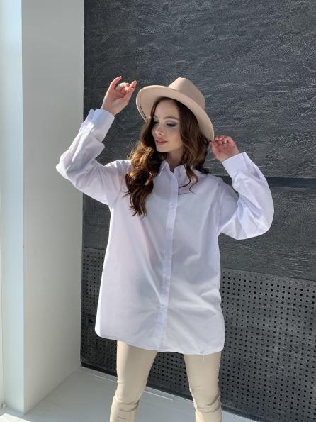 """Купить """"Найс"""" рубашка из хлопковой ткани 10808 оптом и в розницу"""