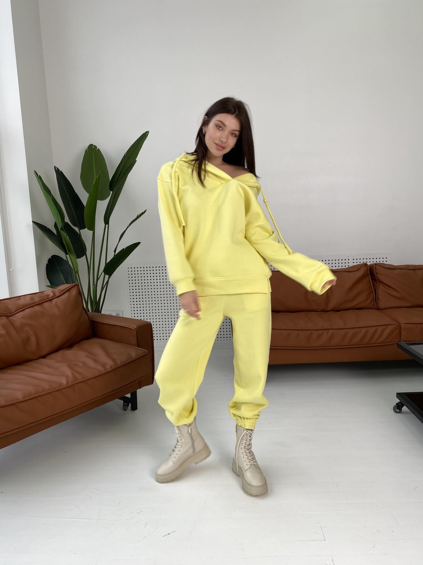 Ярис костюм из 3х нитки 10789 АРТ. 47259 Цвет: Лимон - фото 2, интернет магазин tm-modus.ru