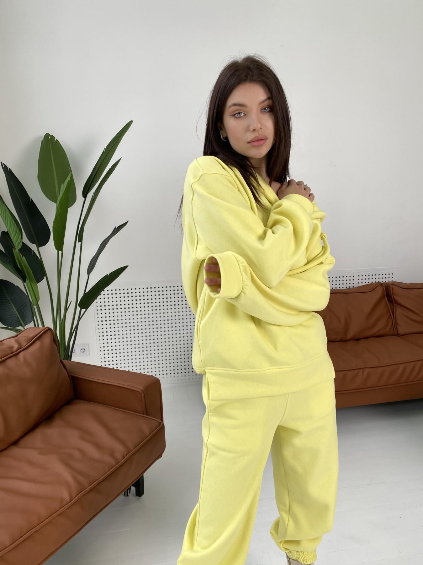 Ярис костюм из 3х нитки 10789 АРТ. 47259 Цвет: Лимон - фото 3, интернет магазин tm-modus.ru