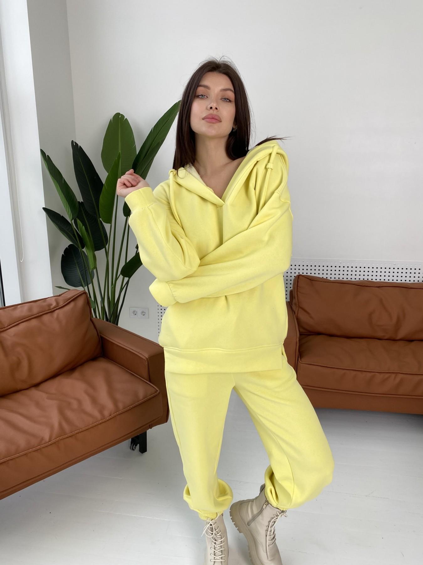 Ярис костюм из 3х нитки 10789 АРТ. 47259 Цвет: Лимон - фото 4, интернет магазин tm-modus.ru