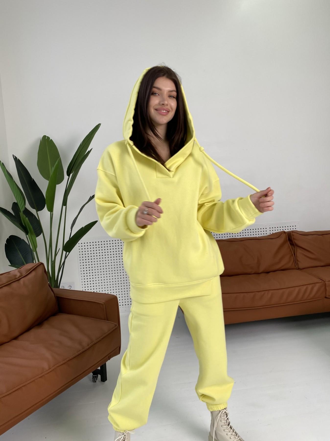 Ярис костюм из 3х нитки 10789 АРТ. 47259 Цвет: Лимон - фото 8, интернет магазин tm-modus.ru