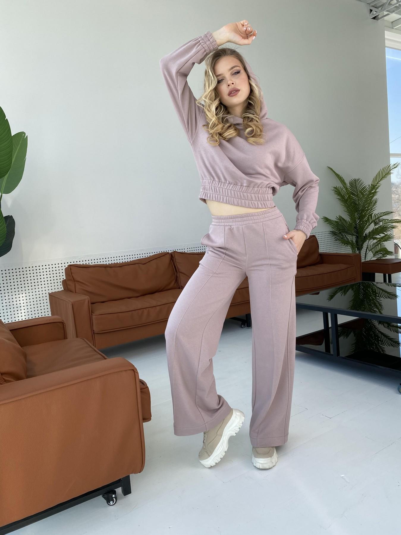 Бейби  прогулочный костюм из 3х нитки 10812 АРТ. 47278 Цвет: Кофе - фото 5, интернет магазин tm-modus.ru