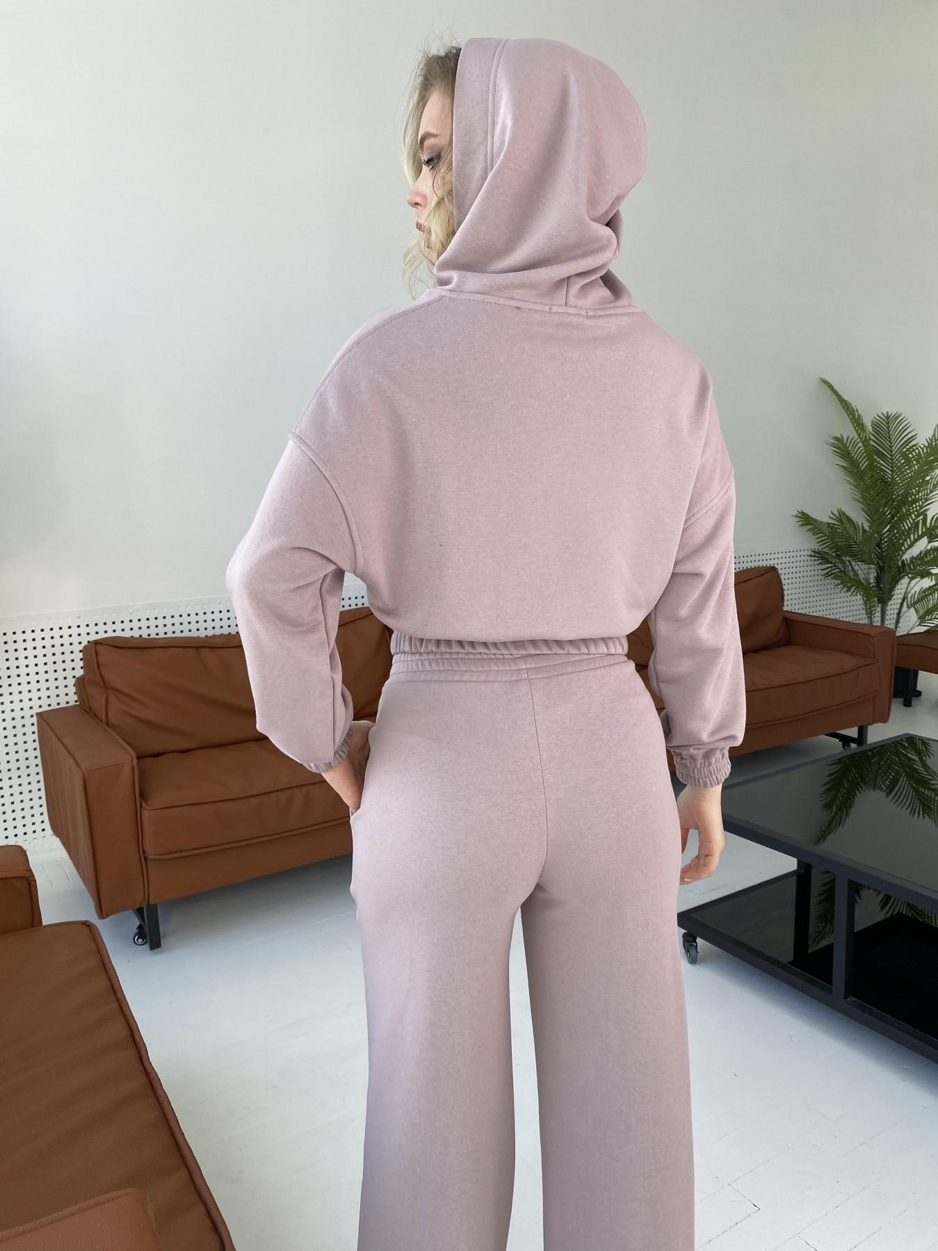 Бейби  прогулочный костюм из 3х нитки 10812 АРТ. 47278 Цвет: Кофе - фото 6, интернет магазин tm-modus.ru