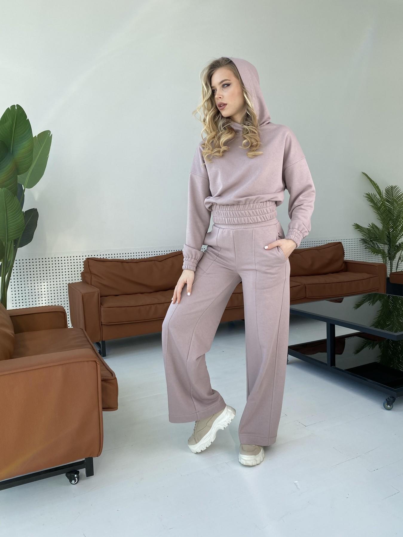 Бейби  прогулочный костюм из 3х нитки 10812 АРТ. 47278 Цвет: Кофе - фото 8, интернет магазин tm-modus.ru