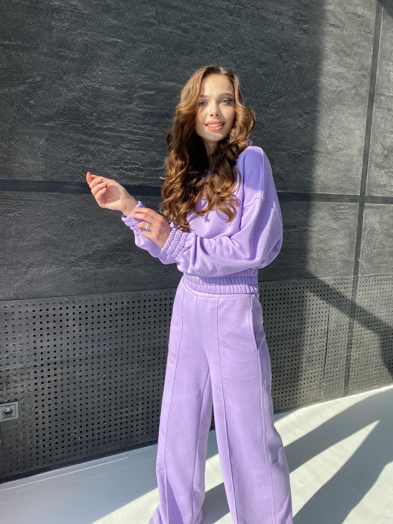 Бейби  прогулочный костюм из 3х нитки 10812 АРТ. 47283 Цвет: Лаванда - фото 1, интернет магазин tm-modus.ru