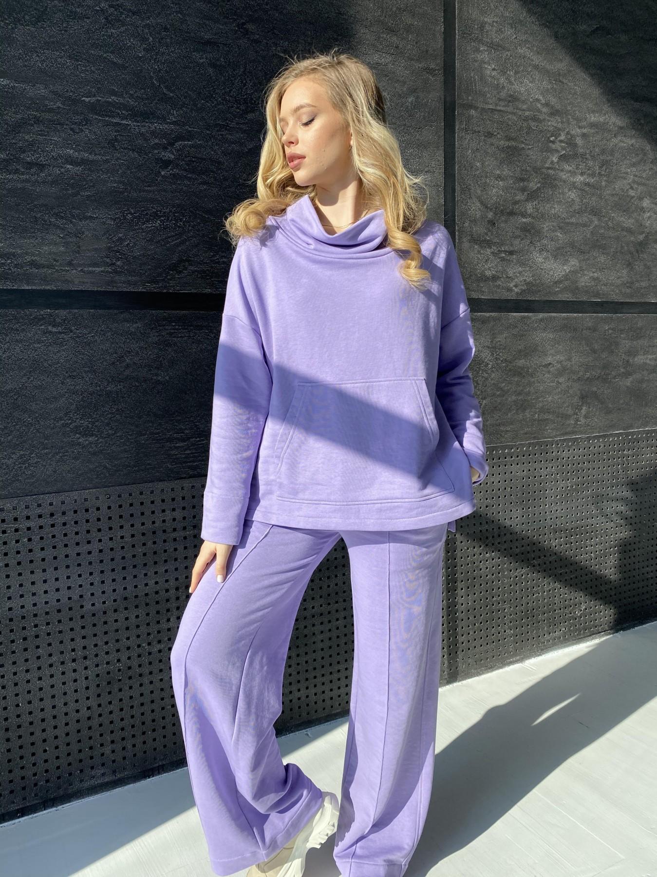 Кристиан костюм 3х нитка 10676 АРТ. 47250 Цвет: Лаванда - фото 3, интернет магазин tm-modus.ru