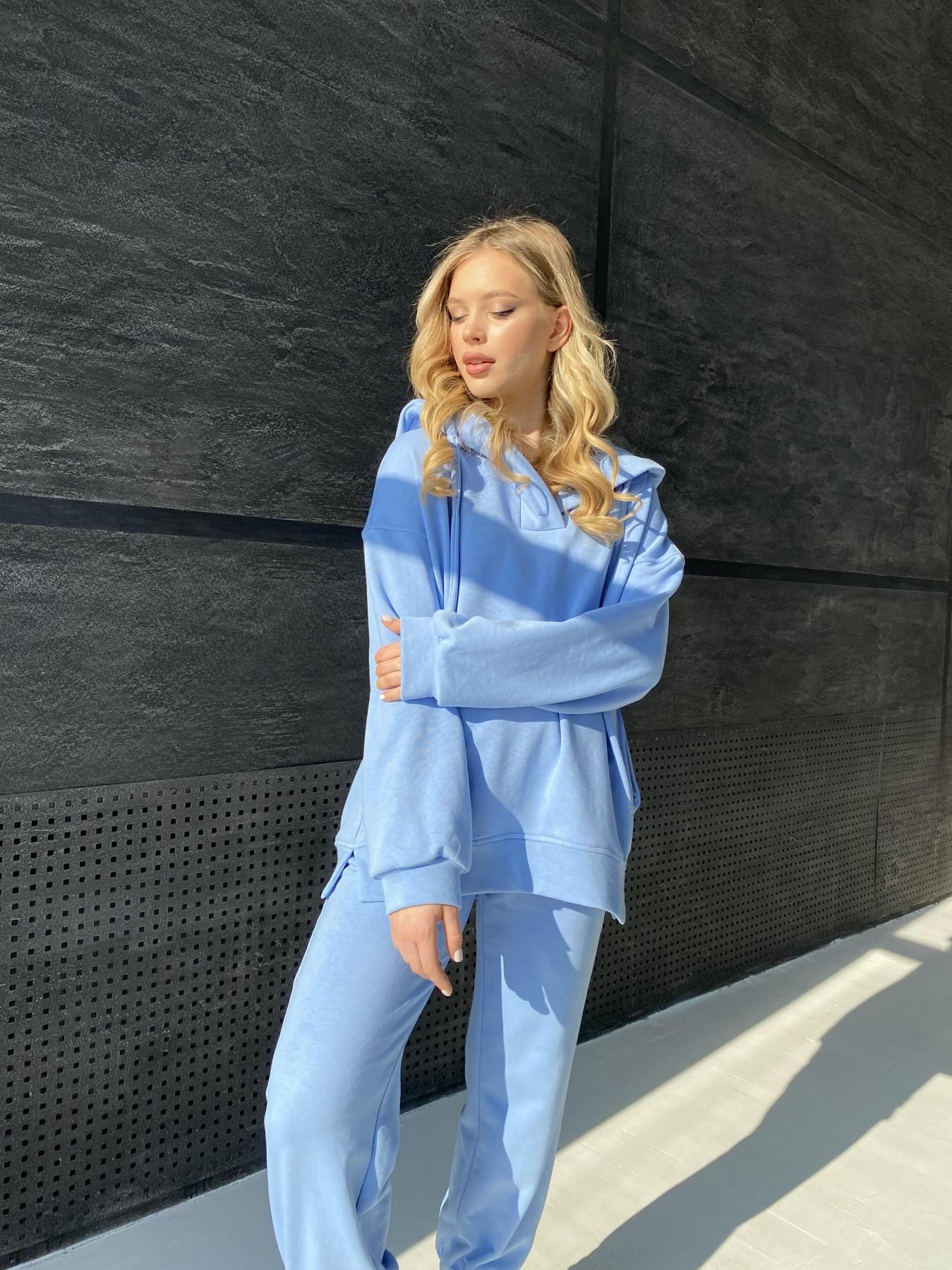 Ярис костюм из 3х нитки 10789 АРТ. 47260 Цвет: Голубой - фото 1, интернет магазин tm-modus.ru