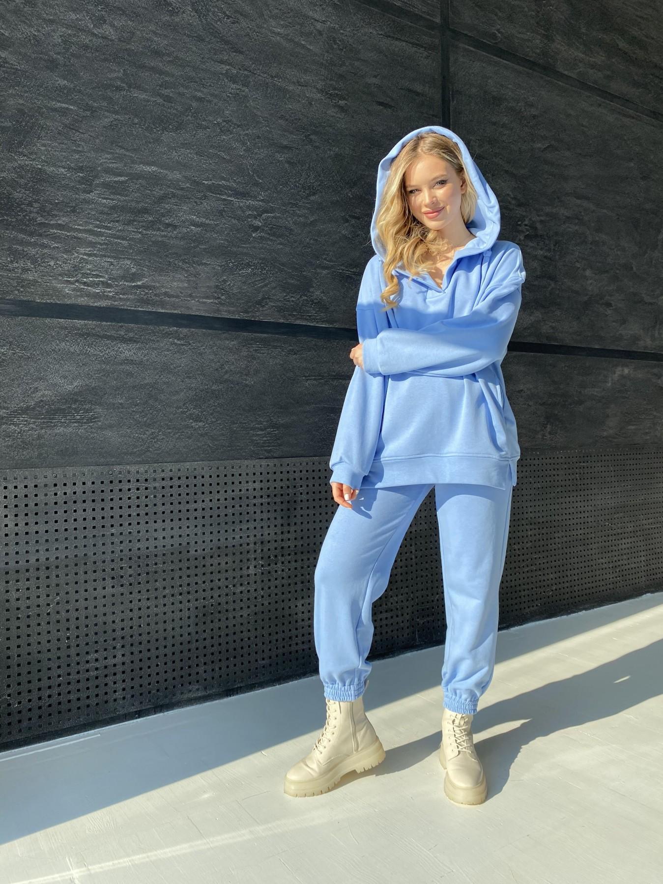 Ярис костюм из 3х нитки 10789 АРТ. 47260 Цвет: Голубой - фото 5, интернет магазин tm-modus.ru