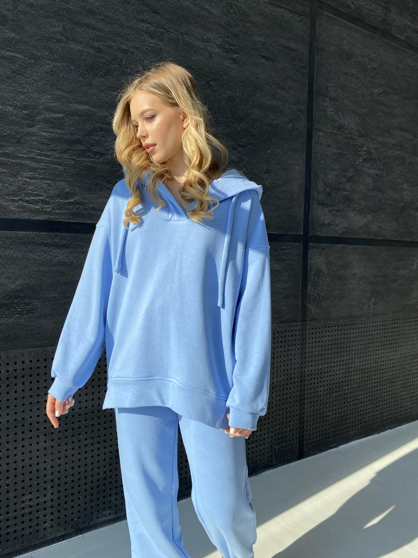 Ярис костюм из 3х нитки 10789 АРТ. 47260 Цвет: Голубой - фото 6, интернет магазин tm-modus.ru