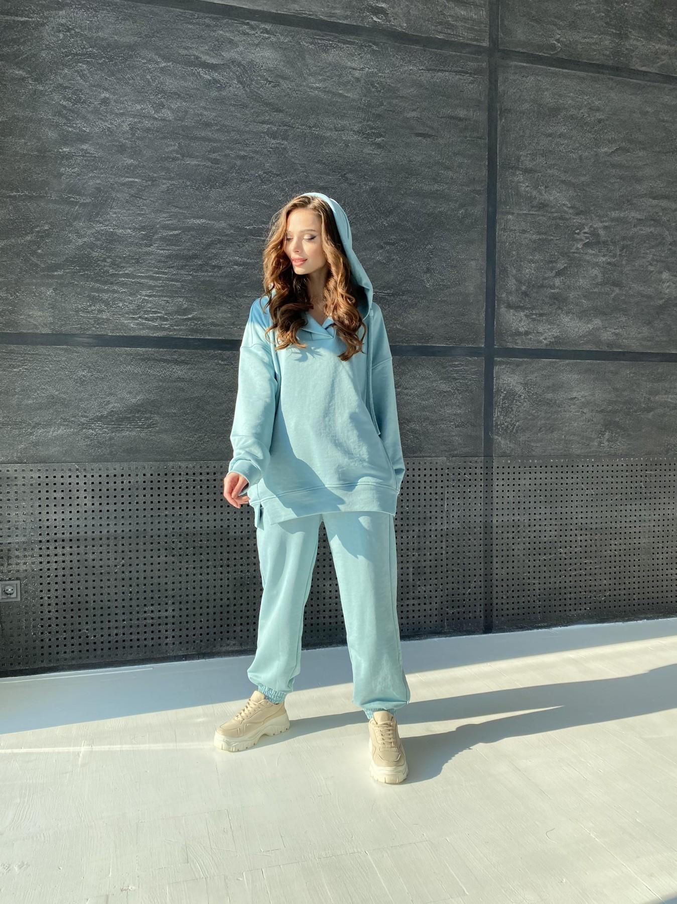 Ярис костюм из 3х нитки 10789 АРТ. 47264 Цвет: Олива - фото 1, интернет магазин tm-modus.ru