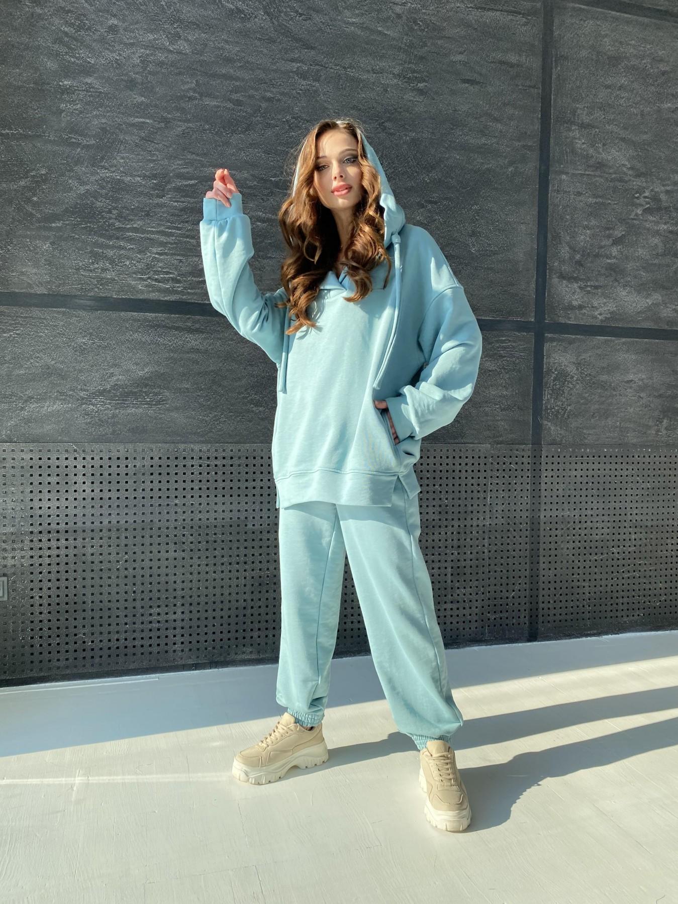 Ярис костюм из 3х нитки 10789 АРТ. 47264 Цвет: Олива - фото 2, интернет магазин tm-modus.ru