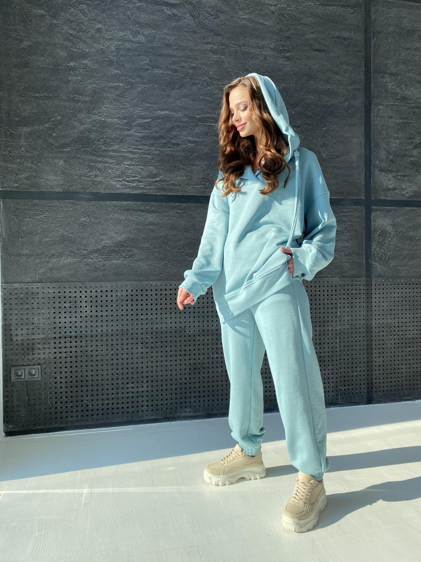 Ярис костюм из 3х нитки 10789 АРТ. 47264 Цвет: Олива - фото 3, интернет магазин tm-modus.ru