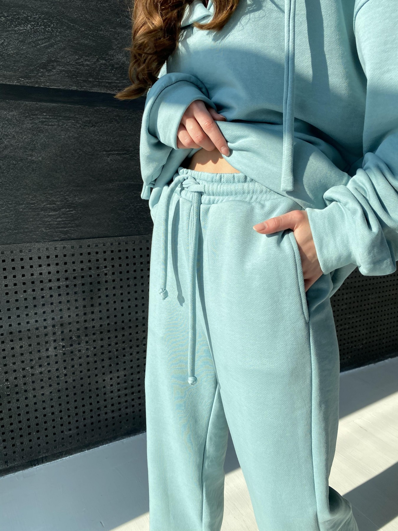 Ярис костюм из 3х нитки 10789 АРТ. 47264 Цвет: Олива - фото 4, интернет магазин tm-modus.ru