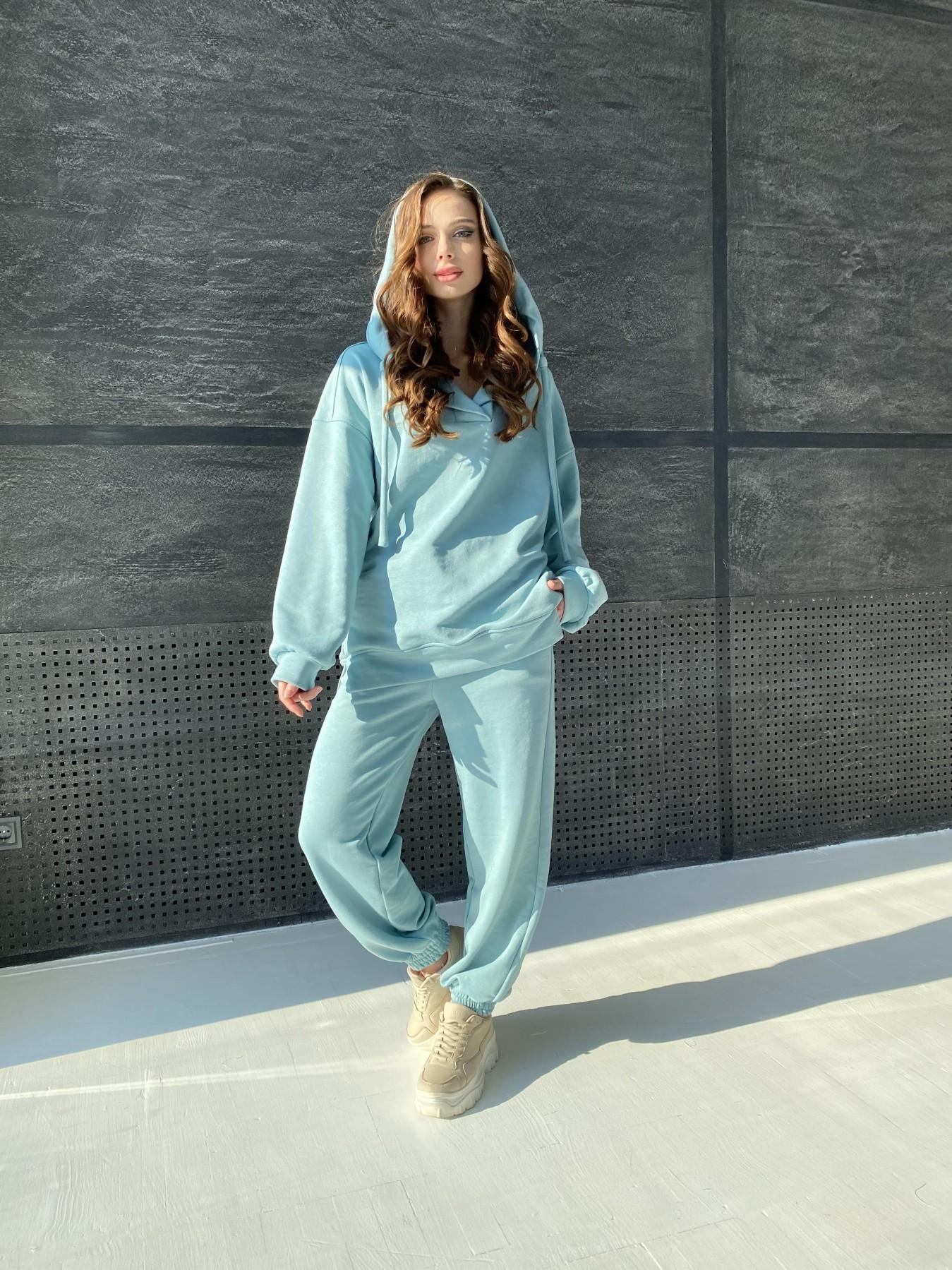 Ярис костюм из 3х нитки 10789 АРТ. 47264 Цвет: Олива - фото 6, интернет магазин tm-modus.ru