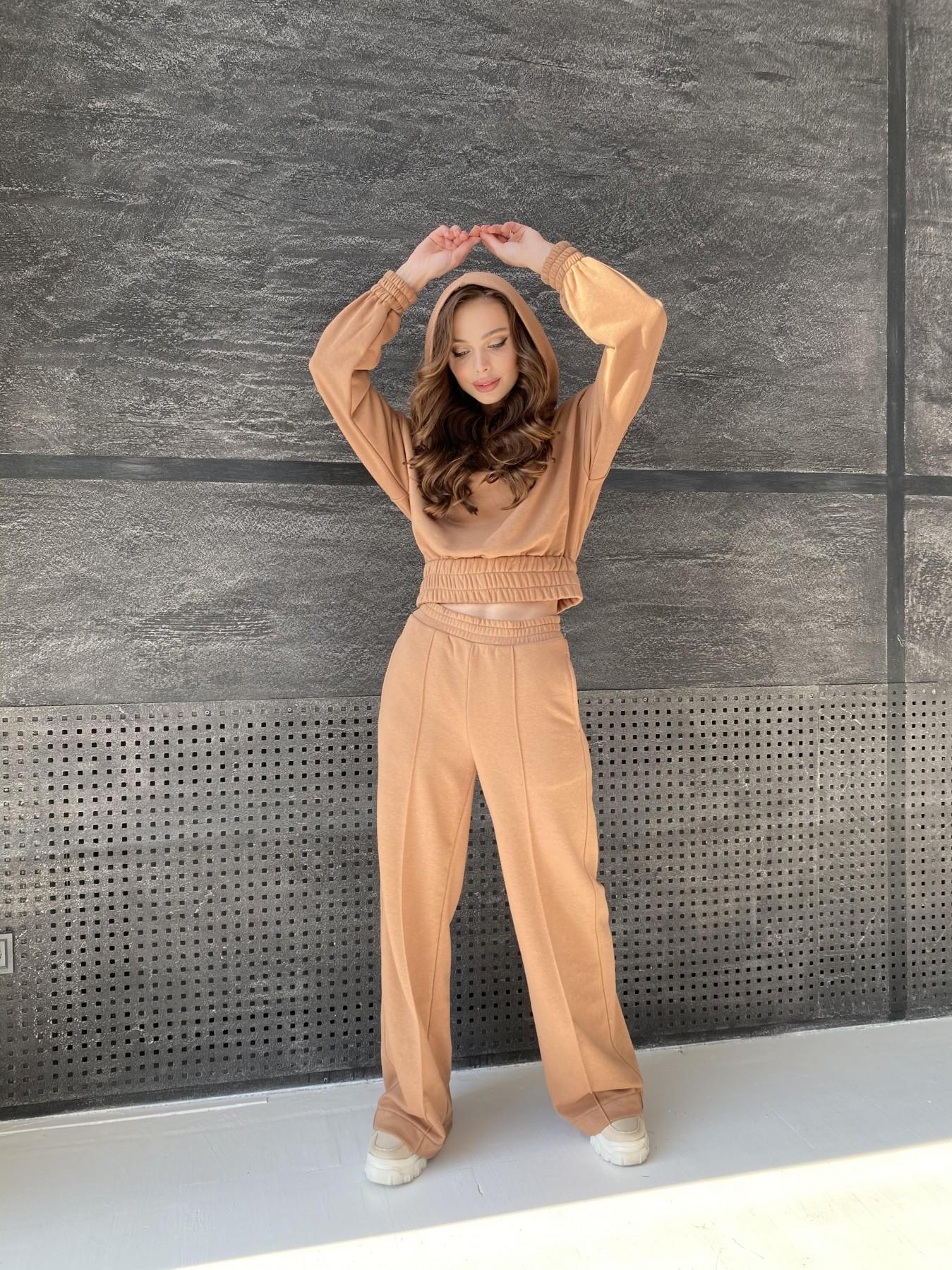 Бейби  прогулочный костюм из 3х нитки 10812 АРТ. 47284 Цвет: Кемел - фото 2, интернет магазин tm-modus.ru