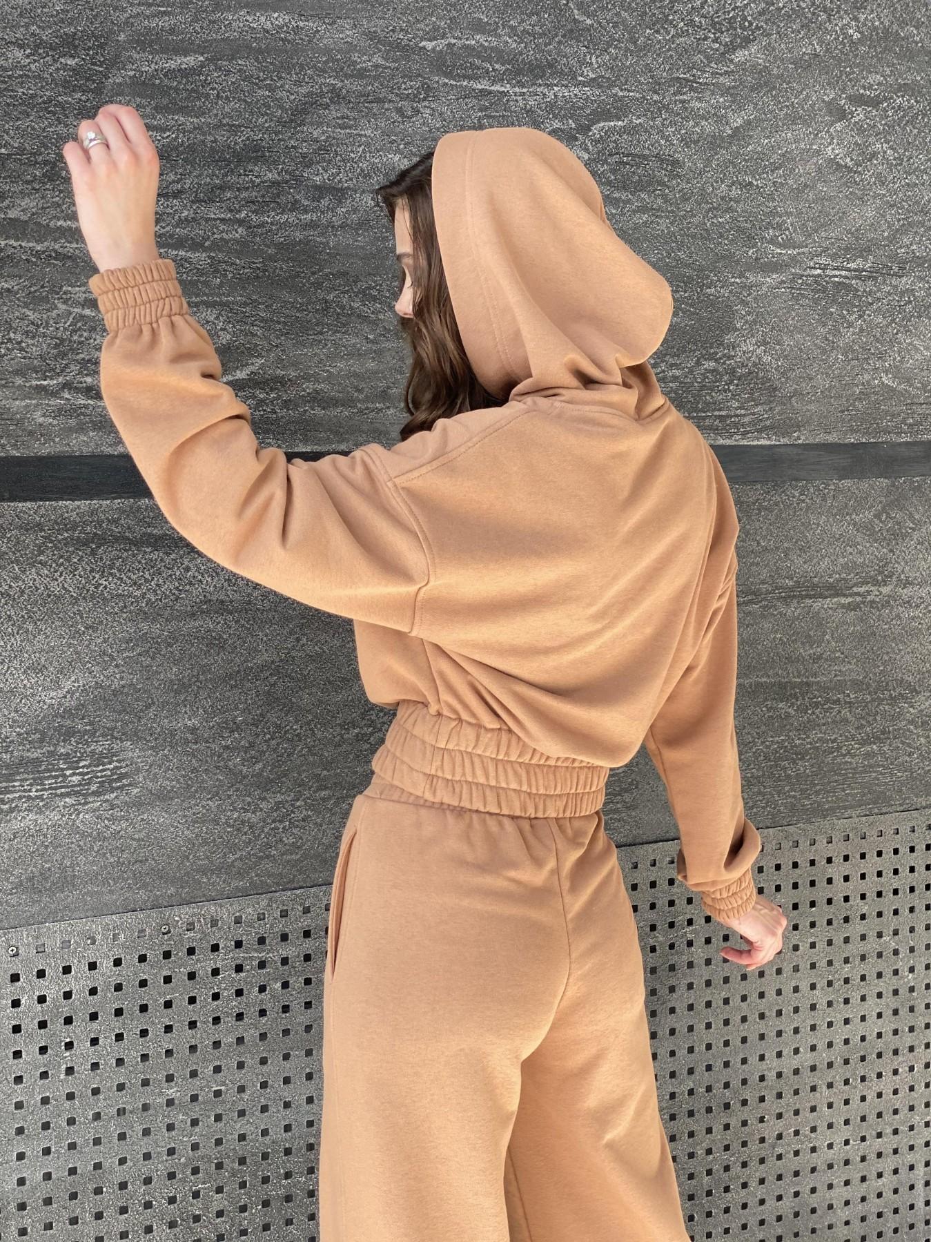 Бейби  прогулочный костюм из 3х нитки 10812 АРТ. 47284 Цвет: Кемел - фото 4, интернет магазин tm-modus.ru