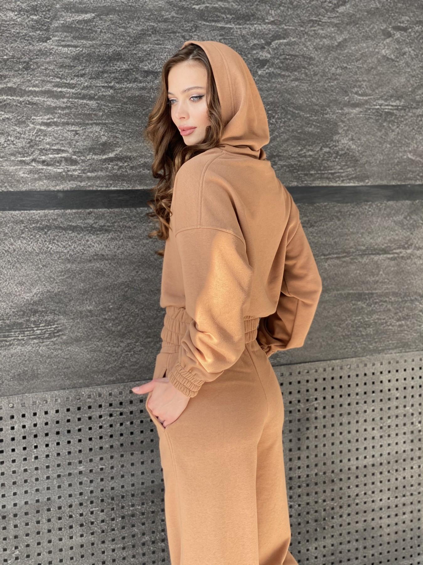 Бейби  прогулочный костюм из 3х нитки 10812 АРТ. 47284 Цвет: Кемел - фото 5, интернет магазин tm-modus.ru