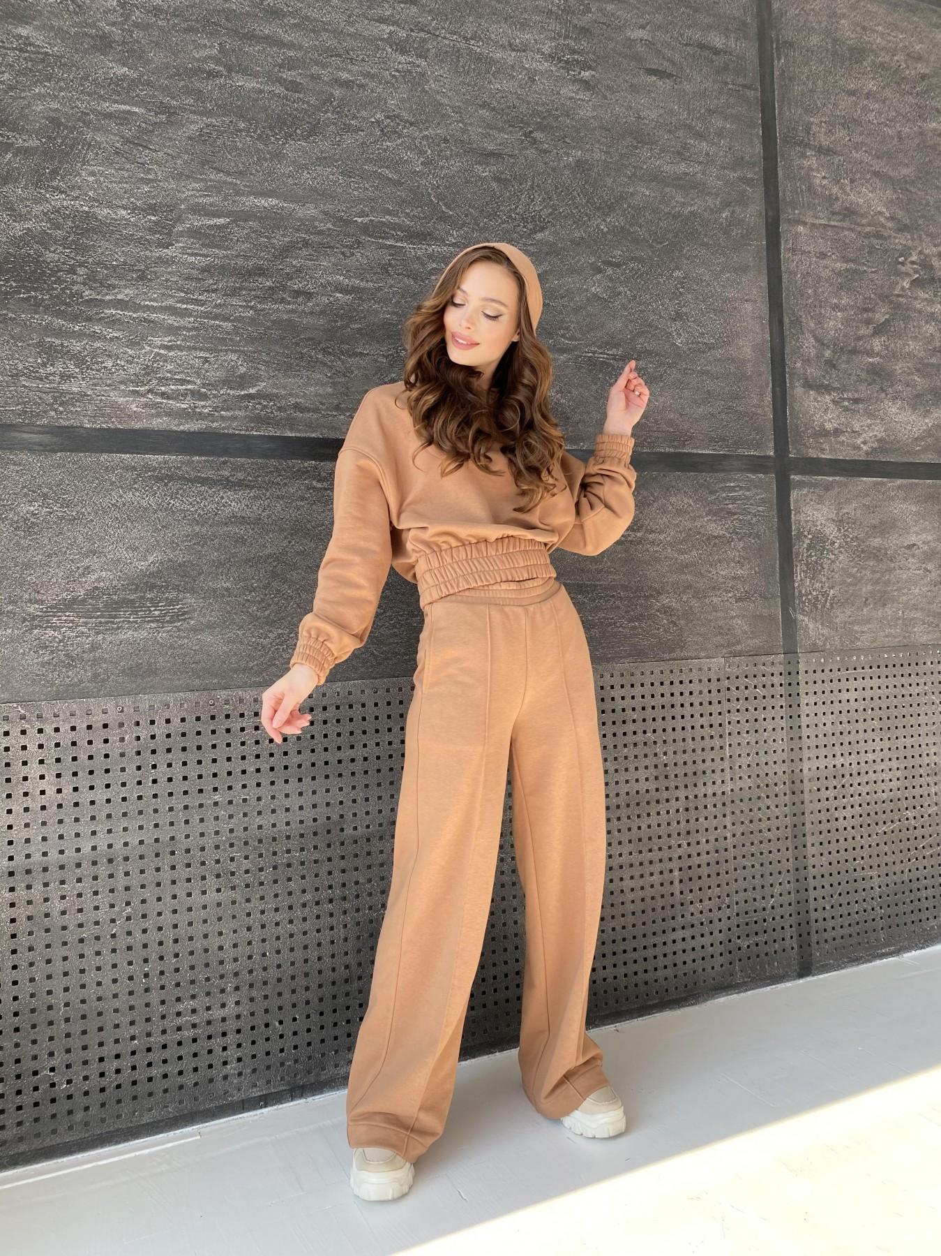 Бейби  прогулочный костюм из 3х нитки 10812 АРТ. 47284 Цвет: Кемел - фото 6, интернет магазин tm-modus.ru