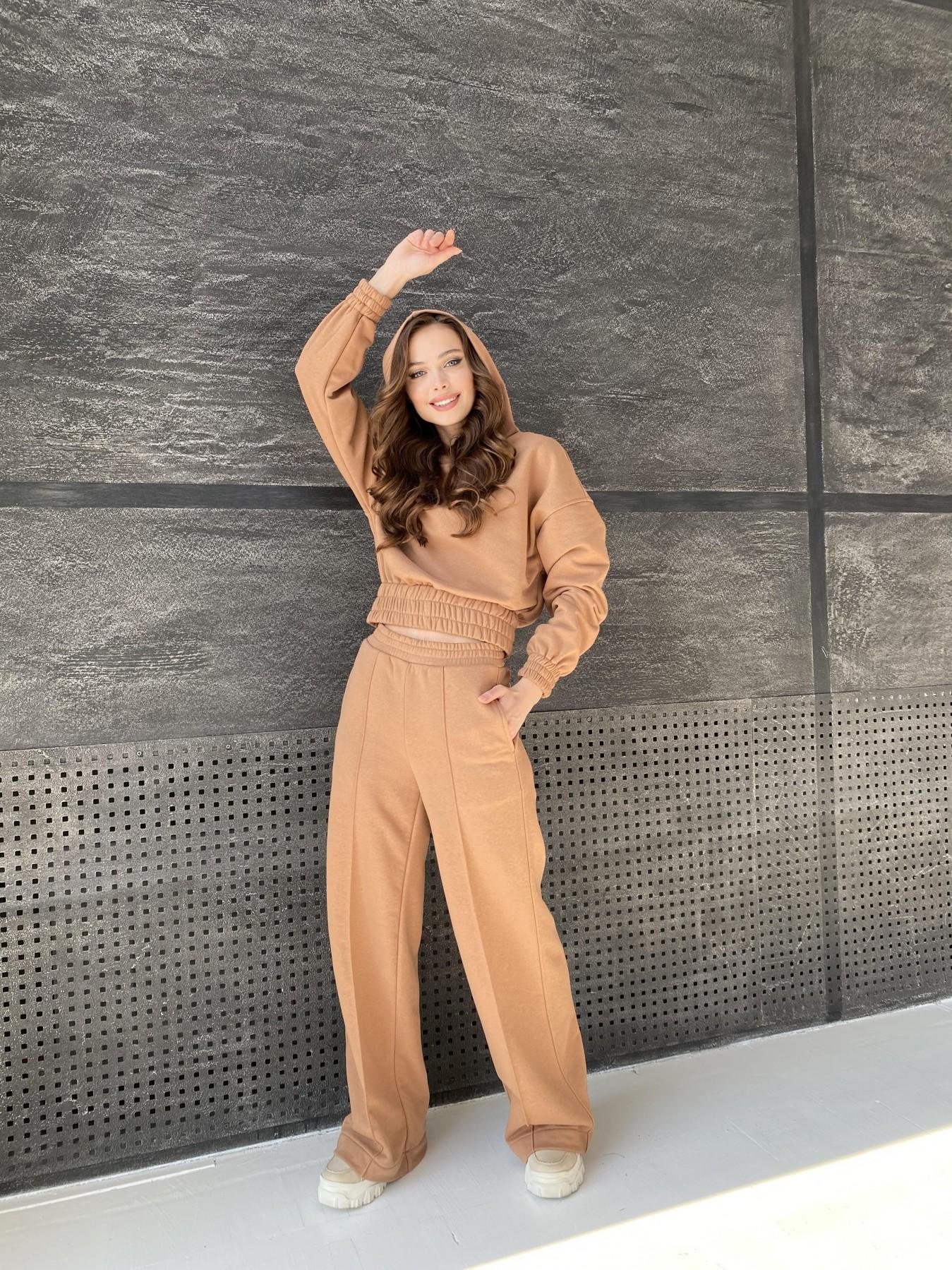 Бейби  прогулочный костюм из 3х нитки 10812 АРТ. 47284 Цвет: Кемел - фото 7, интернет магазин tm-modus.ru