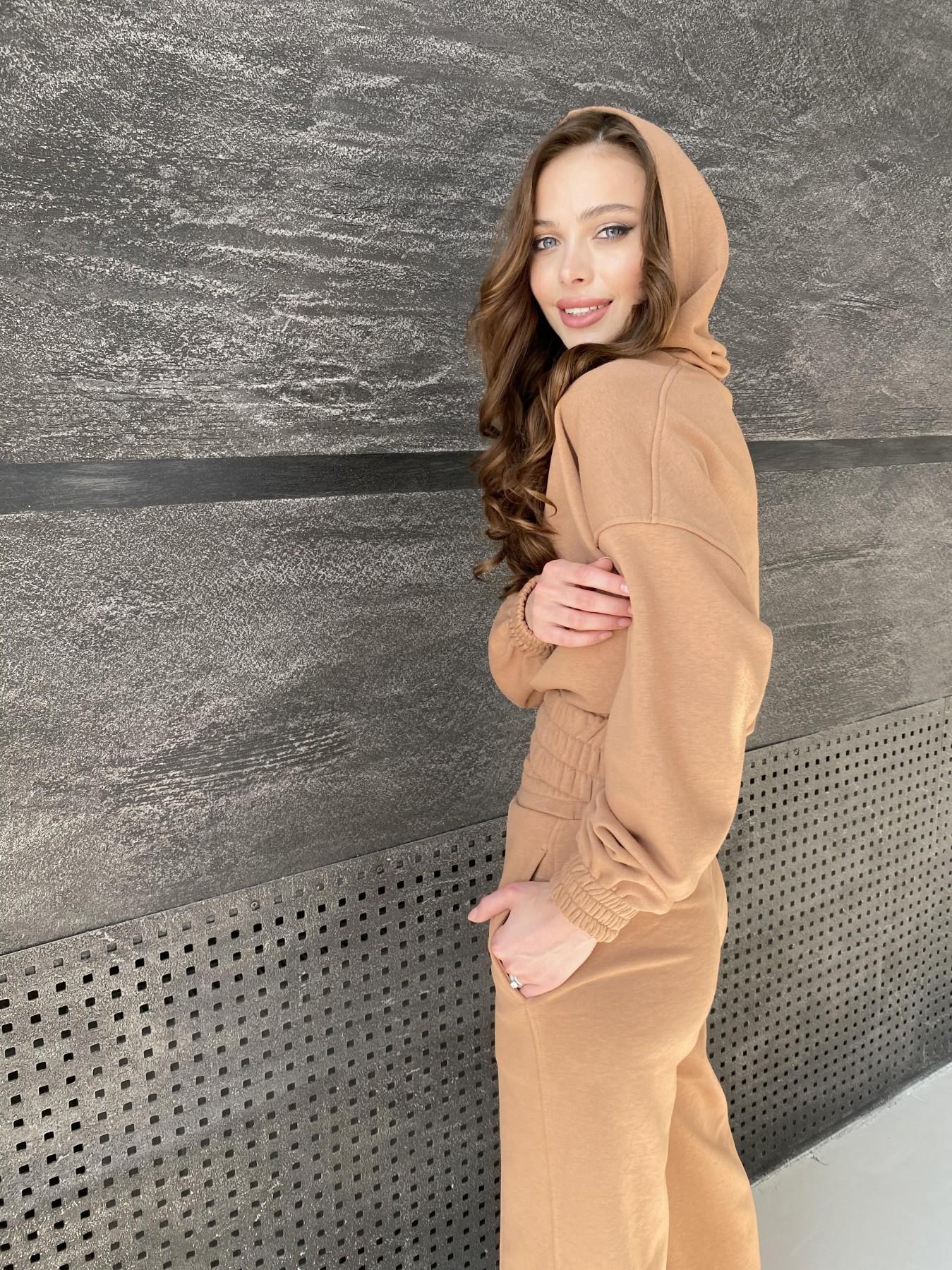 Бейби  прогулочный костюм из 3х нитки 10812 АРТ. 47284 Цвет: Кемел - фото 8, интернет магазин tm-modus.ru