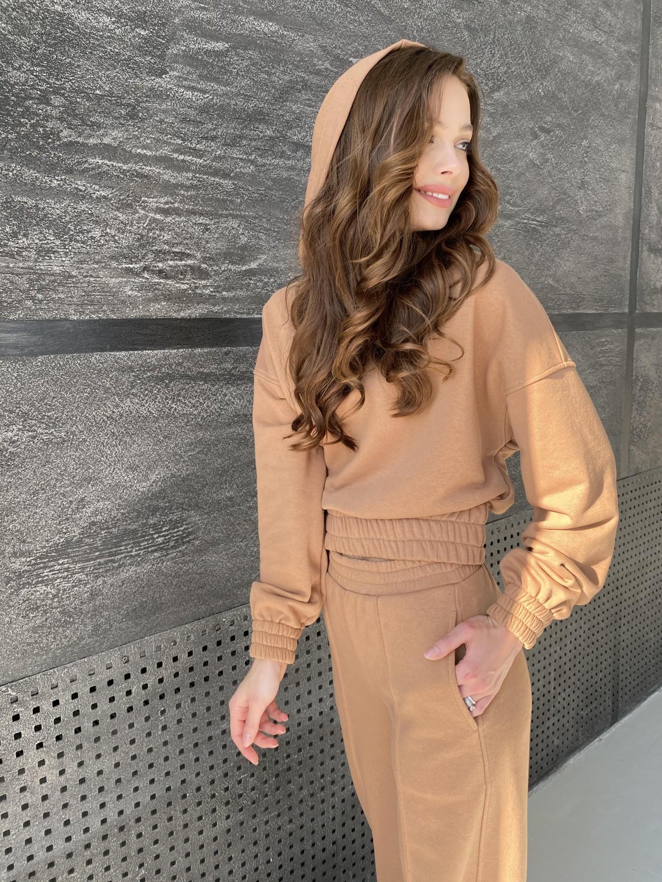 Бейби  прогулочный костюм из 3х нитки 10812 АРТ. 47284 Цвет: Кемел - фото 9, интернет магазин tm-modus.ru