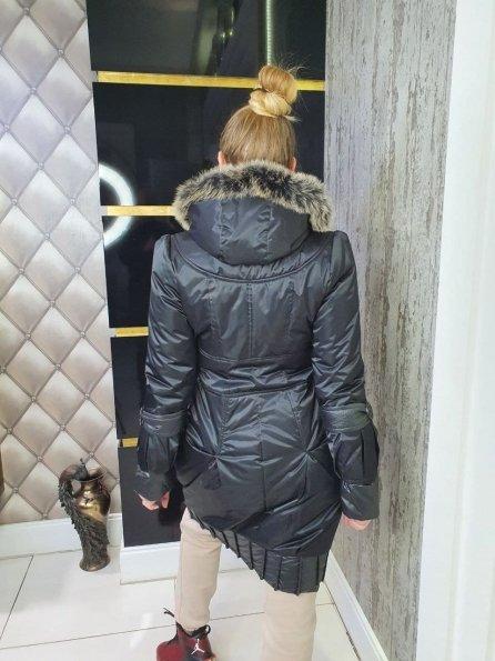 """Купить  Песец плащевка пальто Зима """"10704"""" оптом и в розницу"""