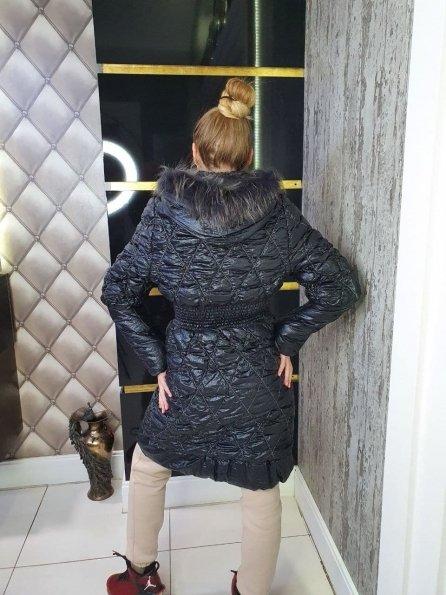 """Купить Резинка Енот плащевка пальто Зима """"10701"""" оптом и в розницу"""