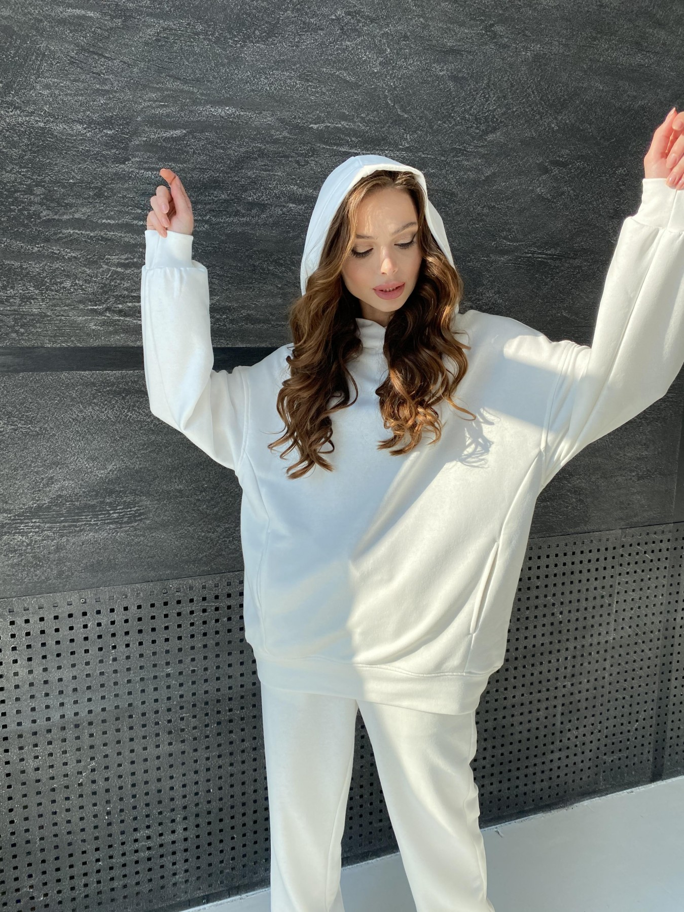 Марион костюм из 3х нитки 10581 АРТ. 47159 Цвет: Молоко - фото 8, интернет магазин tm-modus.ru