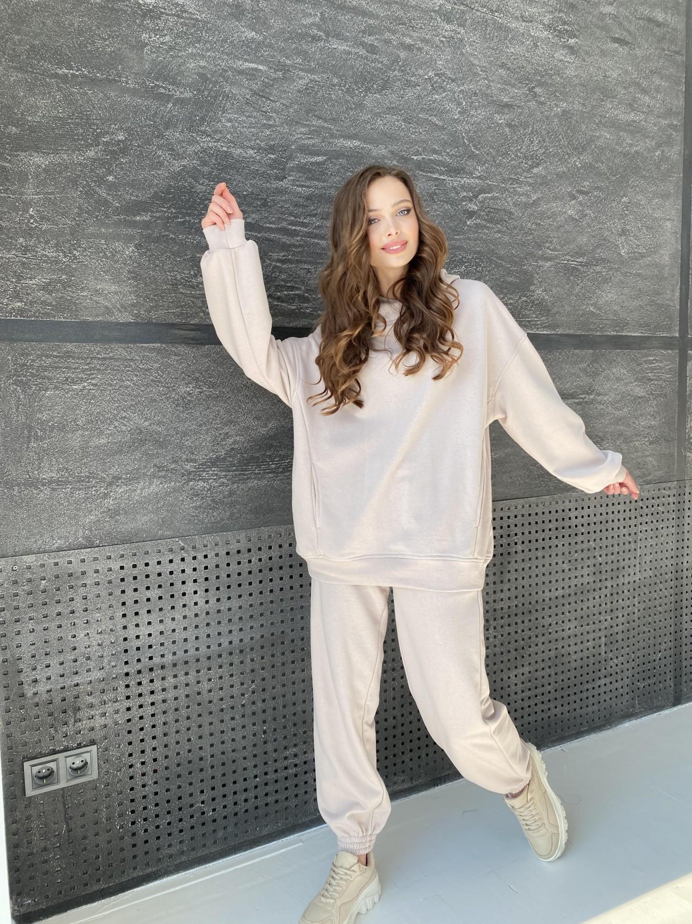 Марион костюм из 3х нитки 10581 АРТ. 46936 Цвет: Бежевый - фото 4, интернет магазин tm-modus.ru