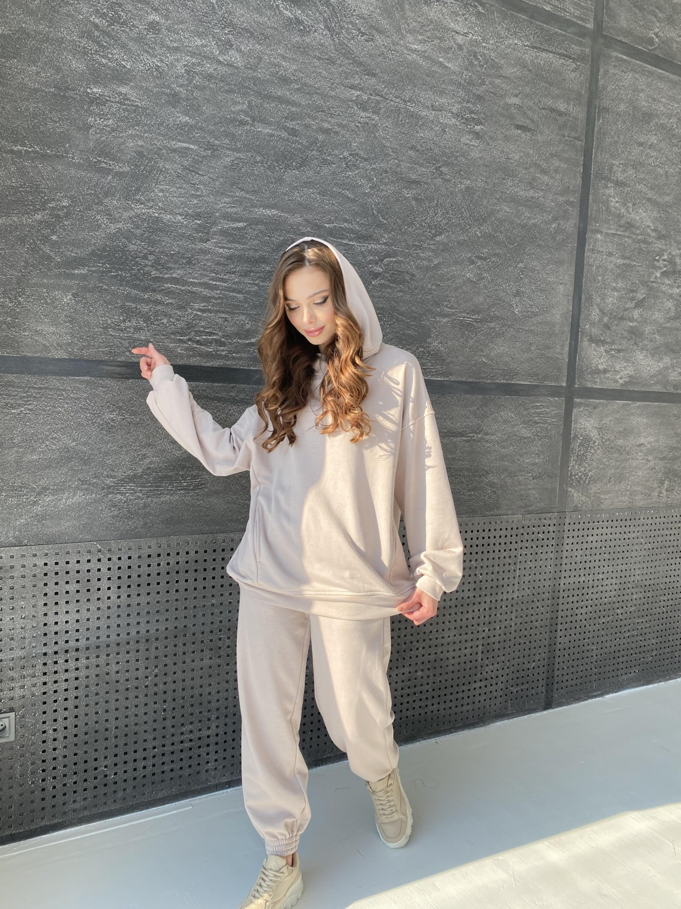 Марион костюм из 3х нитки 10581 АРТ. 46936 Цвет: Бежевый - фото 6, интернет магазин tm-modus.ru