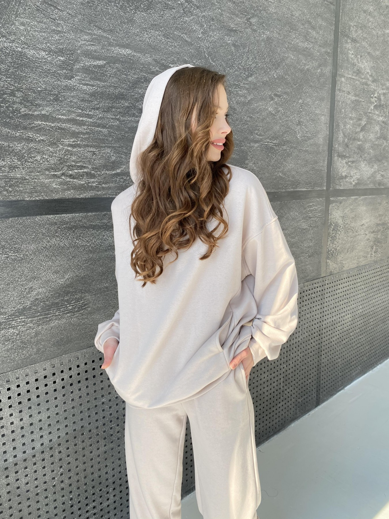 Марион костюм из 3х нитки 10581 АРТ. 46936 Цвет: Бежевый - фото 7, интернет магазин tm-modus.ru