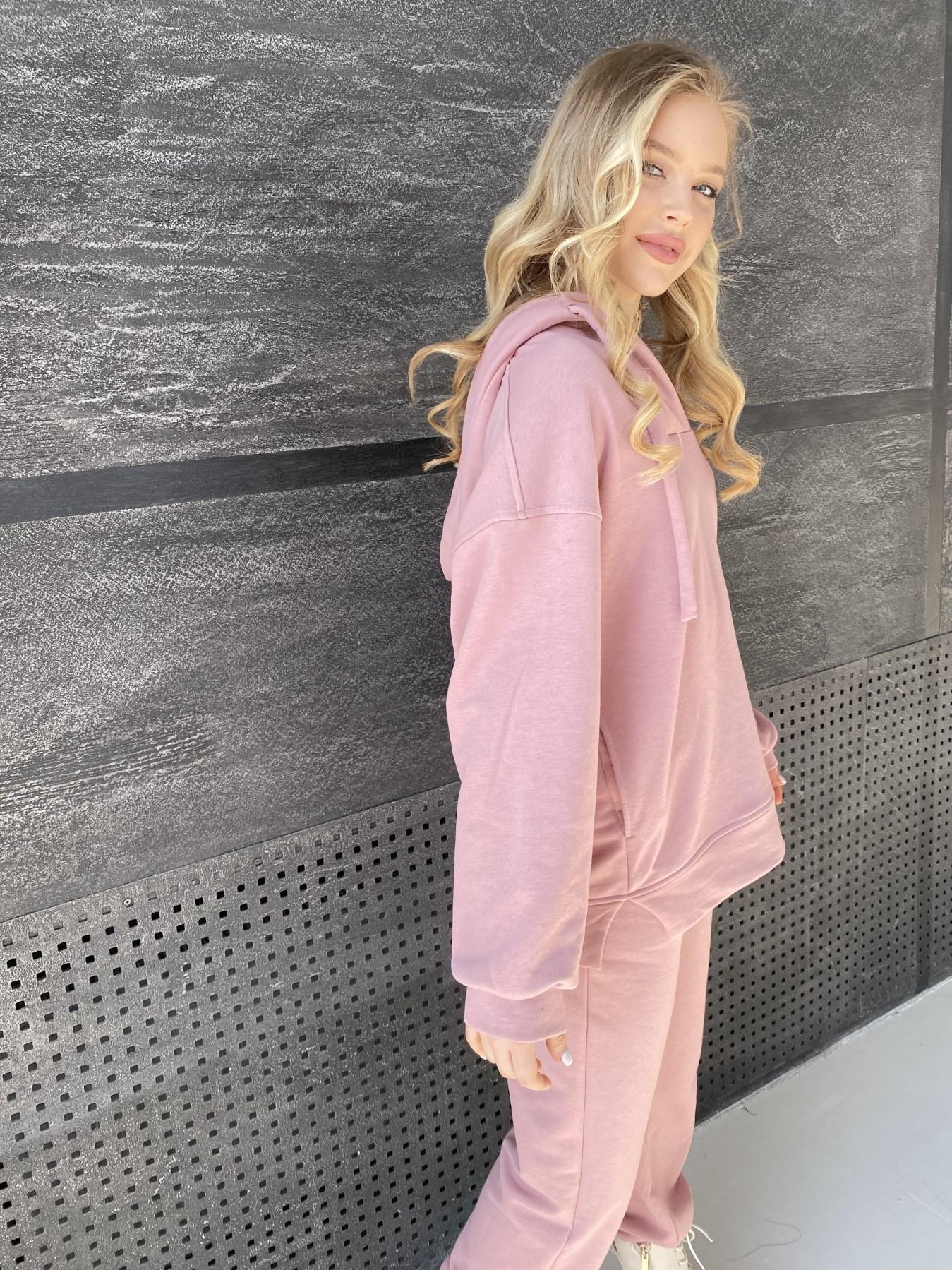 Ярис костюм из 3х нитки 10789 АРТ. 47262 Цвет: Пудра - фото 4, интернет магазин tm-modus.ru