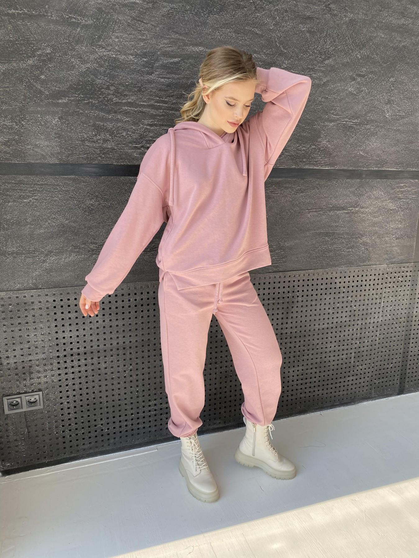 Ярис костюм из 3х нитки 10789 АРТ. 47262 Цвет: Пудра - фото 8, интернет магазин tm-modus.ru