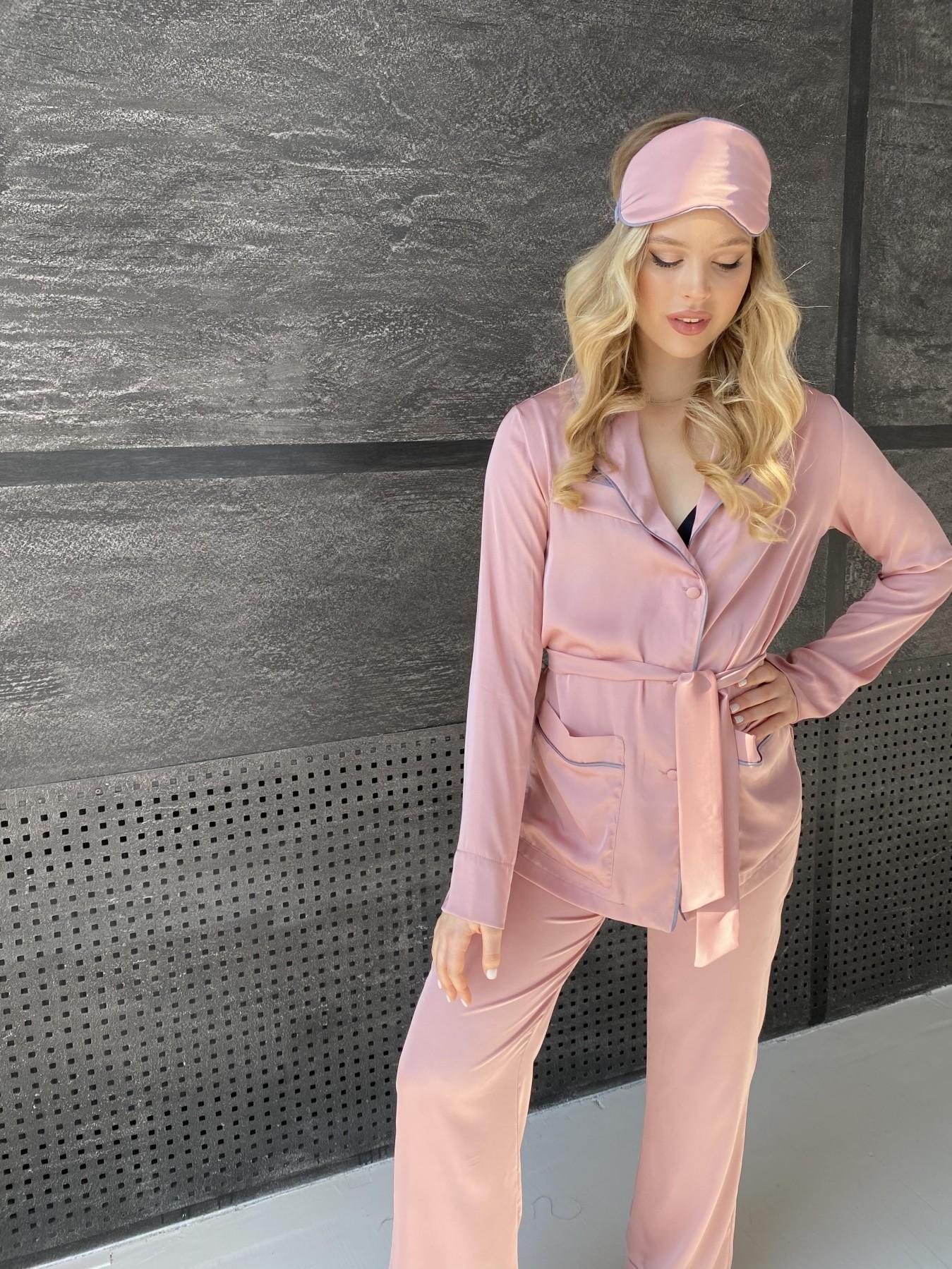 Шайн костюм из шелка  10778 АРТ. 47213 Цвет: Розовый - фото 5, интернет магазин tm-modus.ru