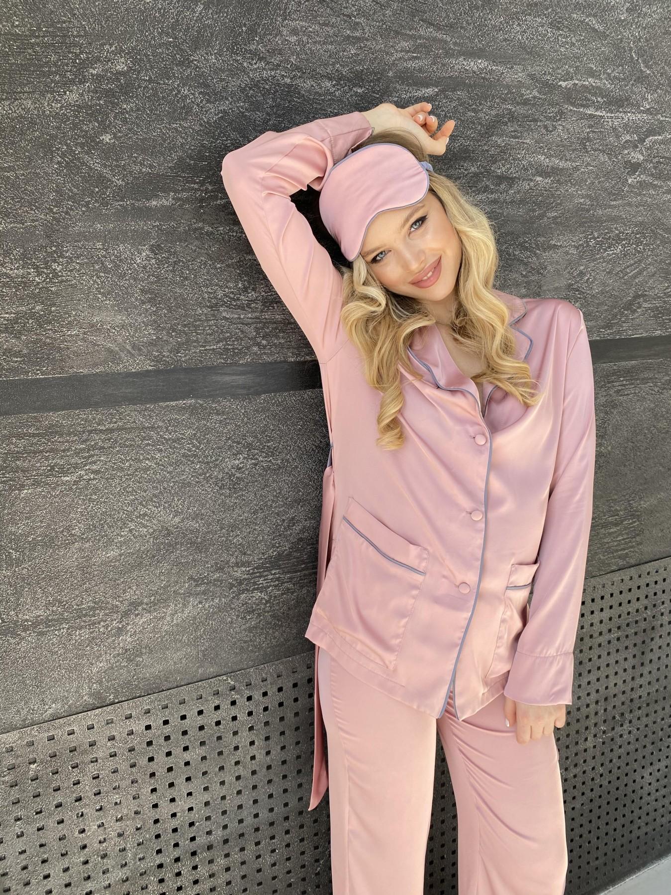 Шайн костюм из шелка  10778 АРТ. 47213 Цвет: Розовый - фото 9, интернет магазин tm-modus.ru