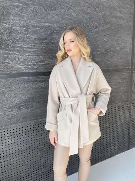 """Купить """"Дефиле"""" пальто из кашемира 10585 оптом и в розницу"""