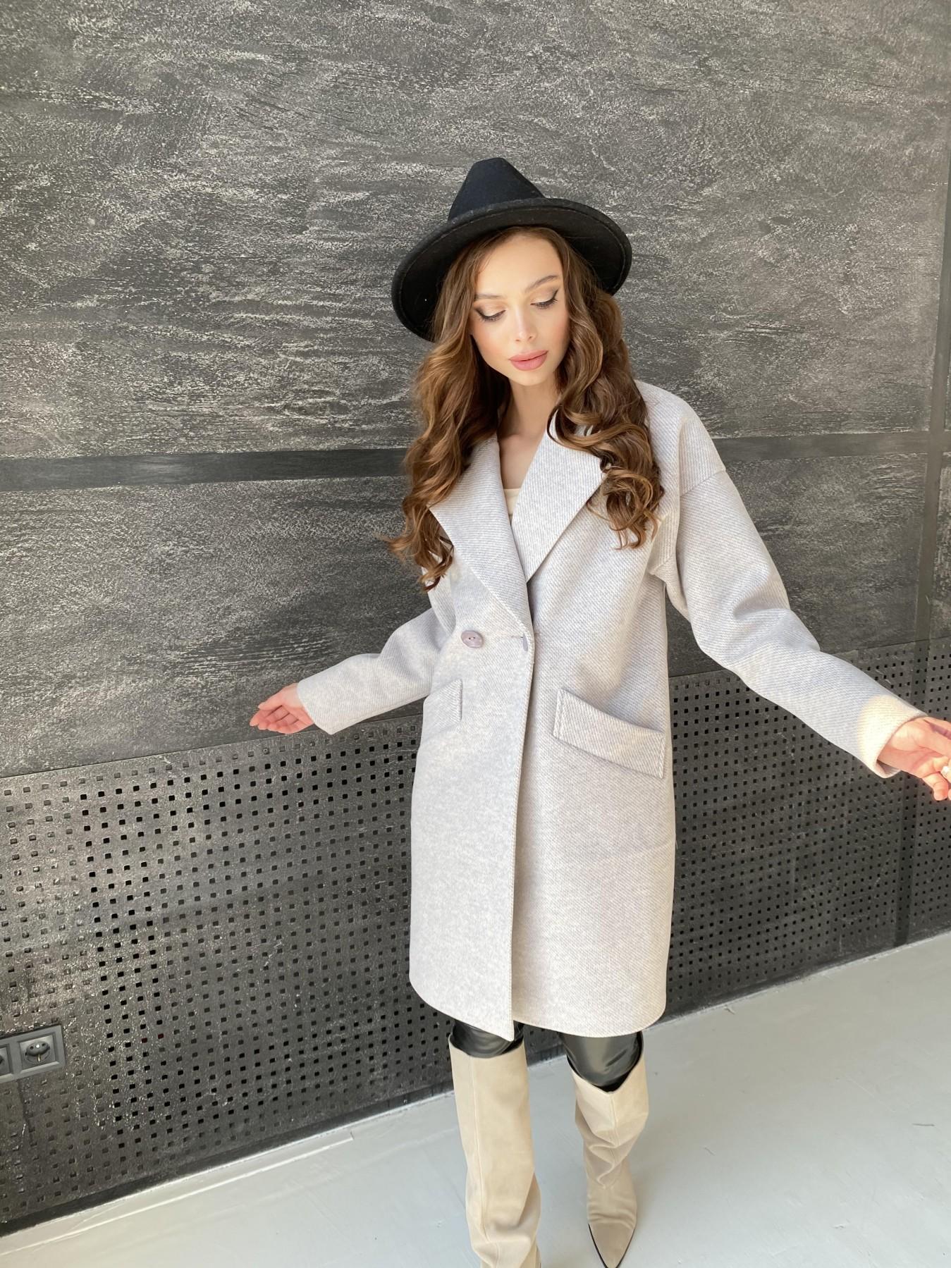 Сенсей Флеш пальто 10662 АРТ. 47187 Цвет: Бежевый 22 - фото 4, интернет магазин tm-modus.ru