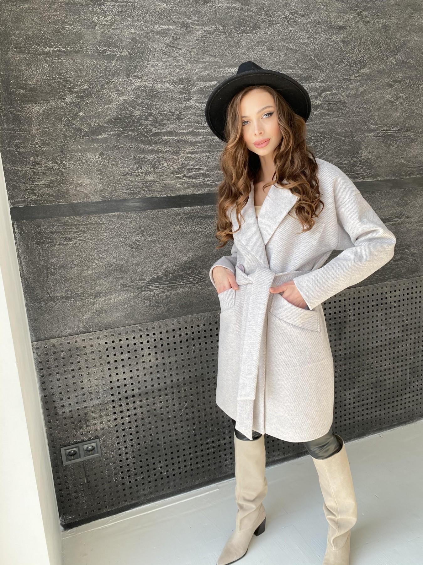 Сенсей Флеш пальто 10662 АРТ. 47187 Цвет: Бежевый 22 - фото 6, интернет магазин tm-modus.ru