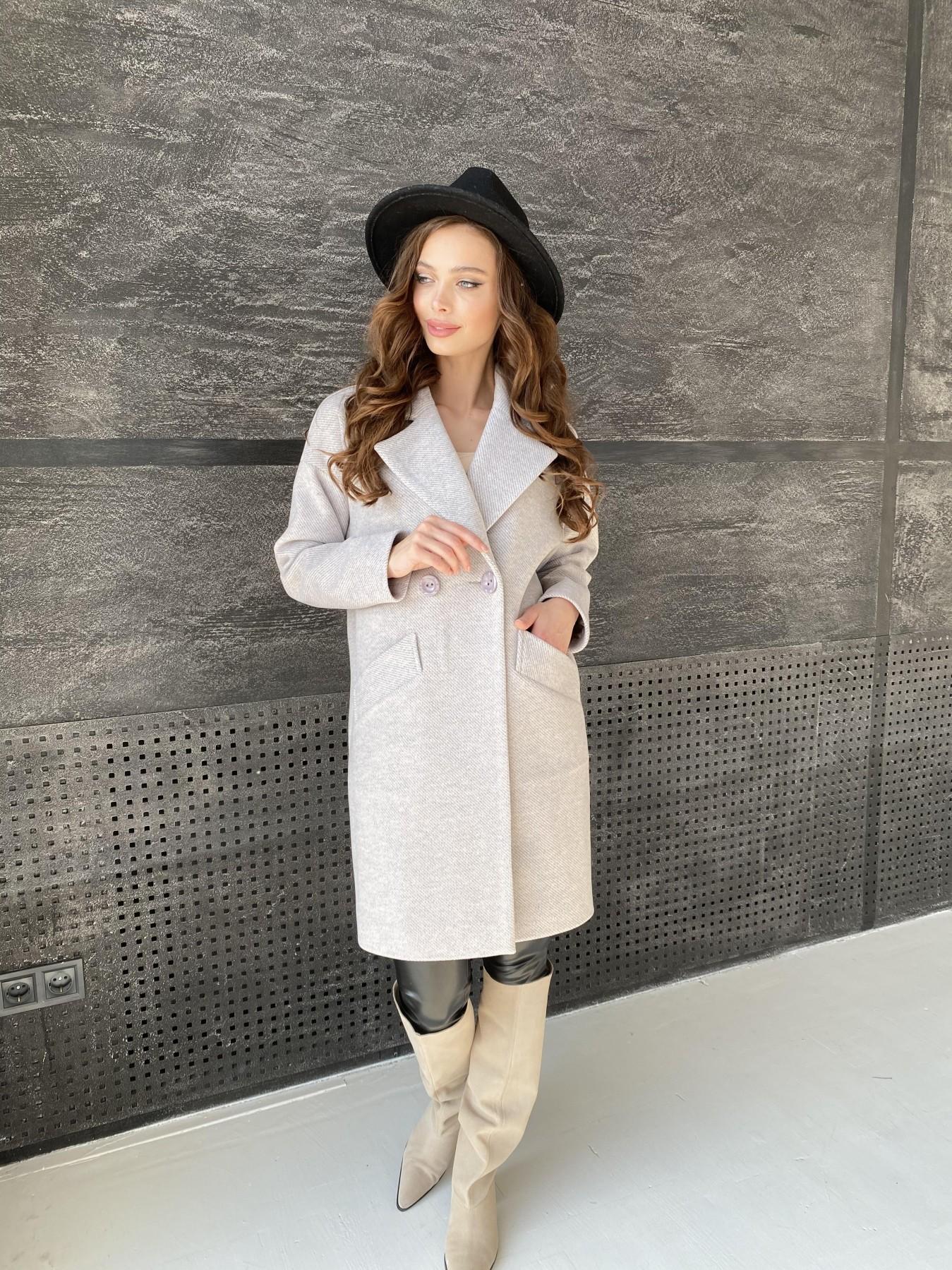 Сенсей Флеш пальто 10662 АРТ. 47187 Цвет: Бежевый 22 - фото 7, интернет магазин tm-modus.ru