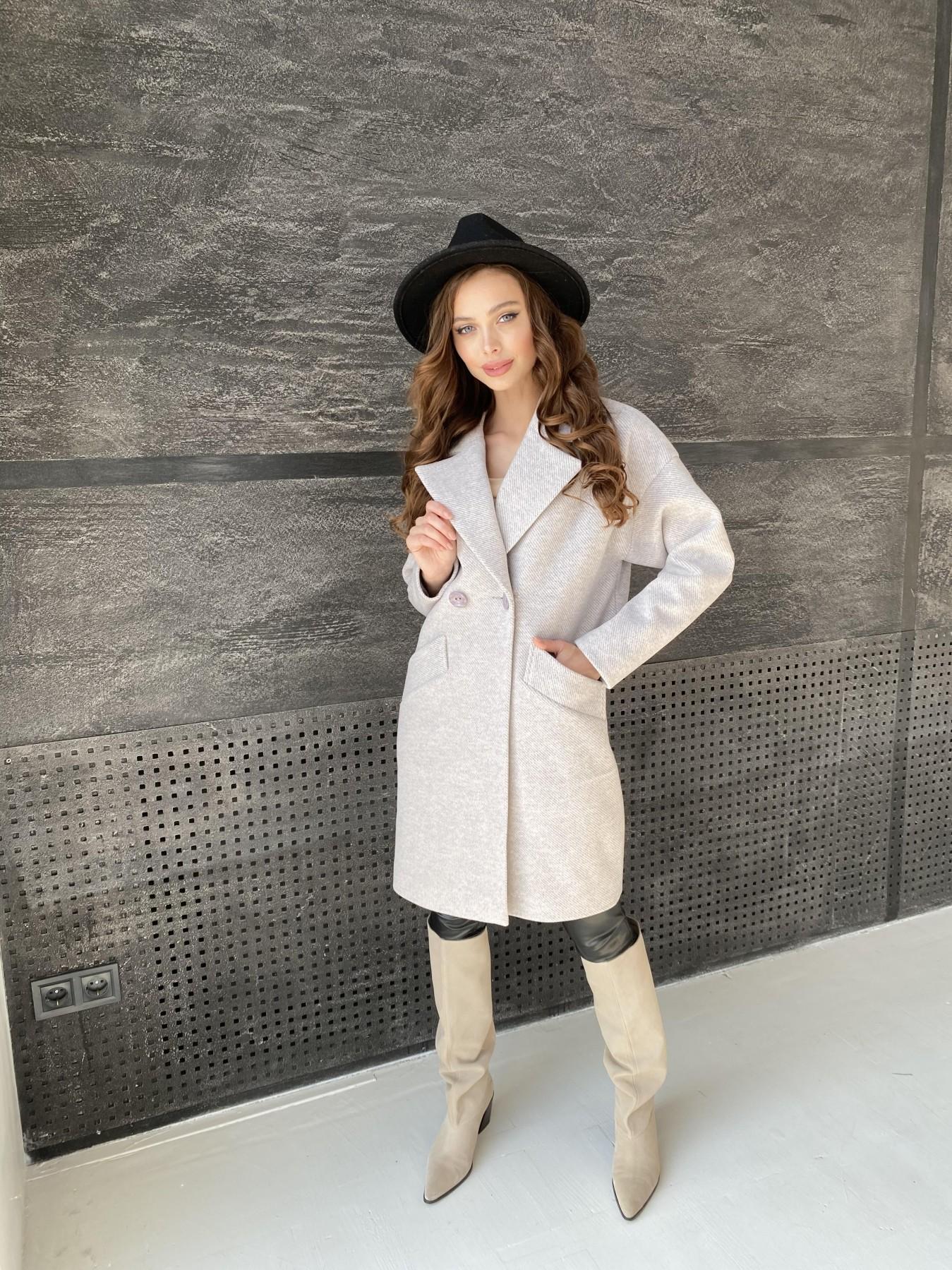 Сенсей Флеш пальто 10662 АРТ. 47187 Цвет: Бежевый 22 - фото 9, интернет магазин tm-modus.ru