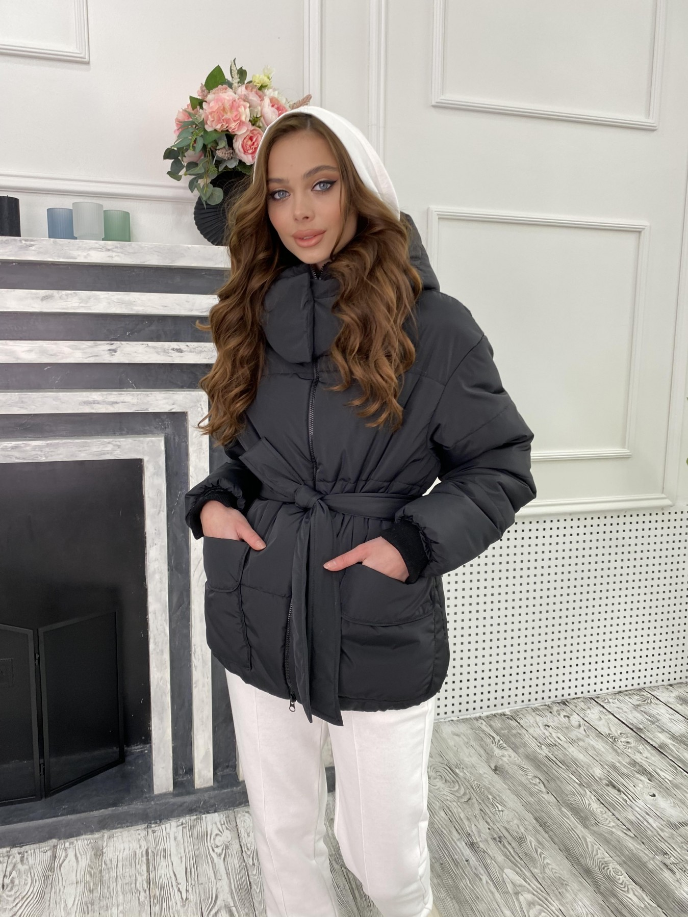 женские куртки оптом Док куртка из  плащевки Ammy 10822