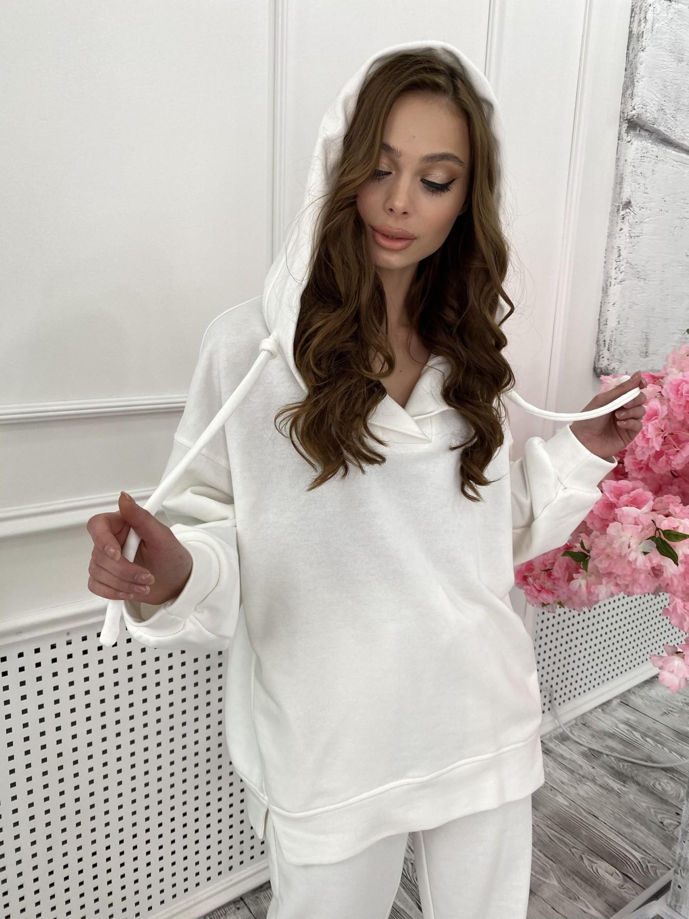 Ярис костюм из 3х нитки 10789 АРТ. 47267 Цвет: Молоко - фото 2, интернет магазин tm-modus.ru