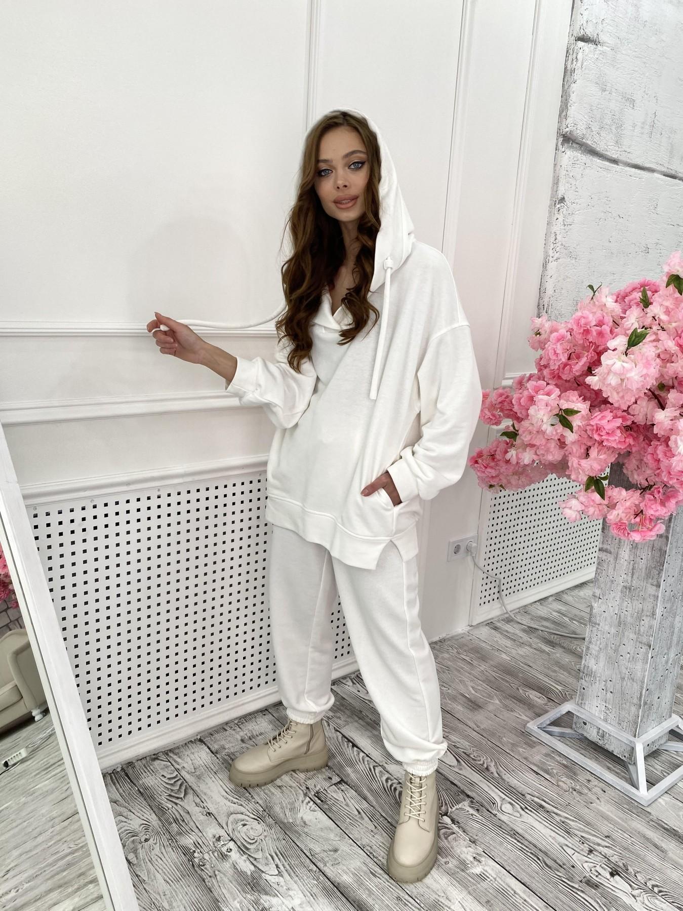 Ярис костюм из 3х нитки 10789 АРТ. 47267 Цвет: Молоко - фото 3, интернет магазин tm-modus.ru