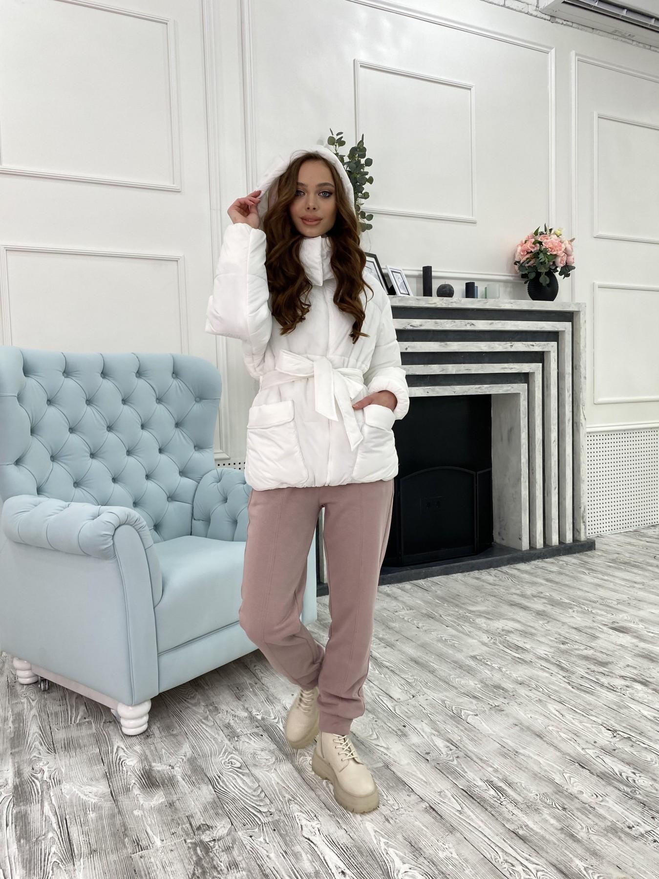 Док куртка из  плащевки Ammy 10822 АРТ. 47311 Цвет: Белый - фото 6, интернет магазин tm-modus.ru