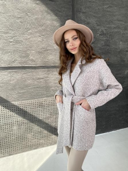 Купить Бонд шерсть букле пальтовая ткань пальто 10770 оптом и в розницу